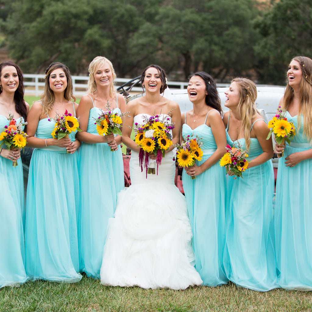 Tulle Bridesmaid Dresses – Dairy Bridal