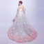 Popular Lace High Low Applique Sweet Heart Affordable Wedding Dress,220008