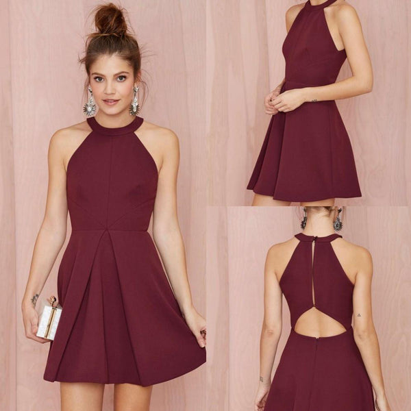 83a23a7592 Short Homecoming Dress