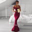 Off Shoulder Prom Dress, Mermaid Prom Dress, Satin Prom Dress, Sexy Prom Dress, Backless Prom Dress, DA864