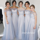 Long Bridesmaid Dress, Sweet Heart Bridesmaid Dress, Simple Design Bridesmaid Dress, DA872