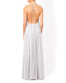 Halter A-line Chiffon Backless Bridesmaid Dress, FC3811