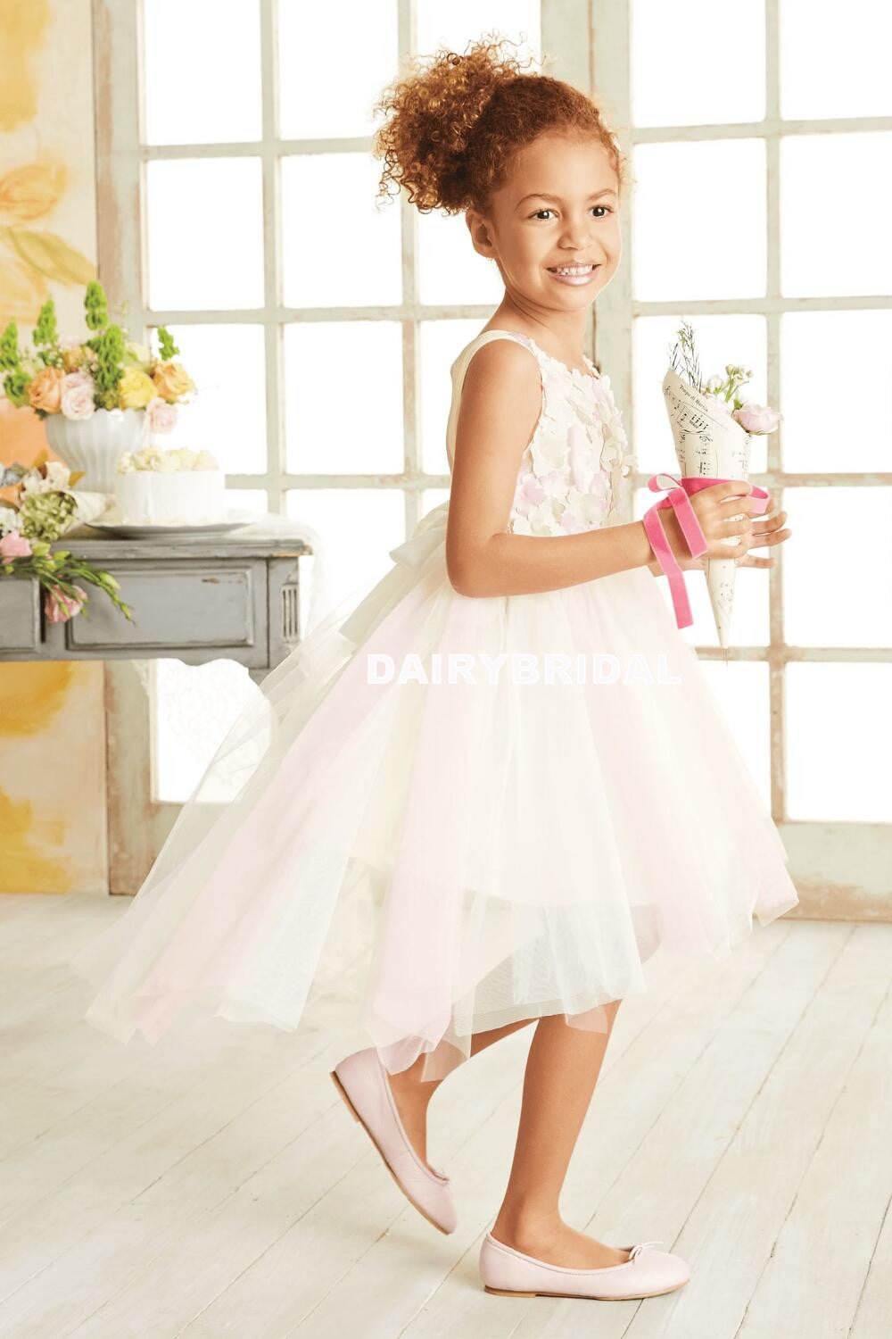 High low tulle applique flower girl dresses cheap popular little high low tulle applique flower girl dresses cheap popular little girl dresses d999 izmirmasajfo