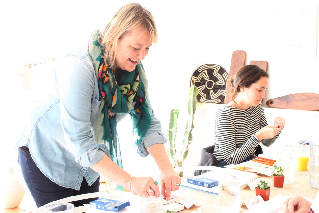 Highlights from Lindsay Hollinger's Watercolor Workshop