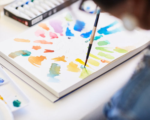 Watercolor Painting with Lindsay Hollinger Sunday January 21st
