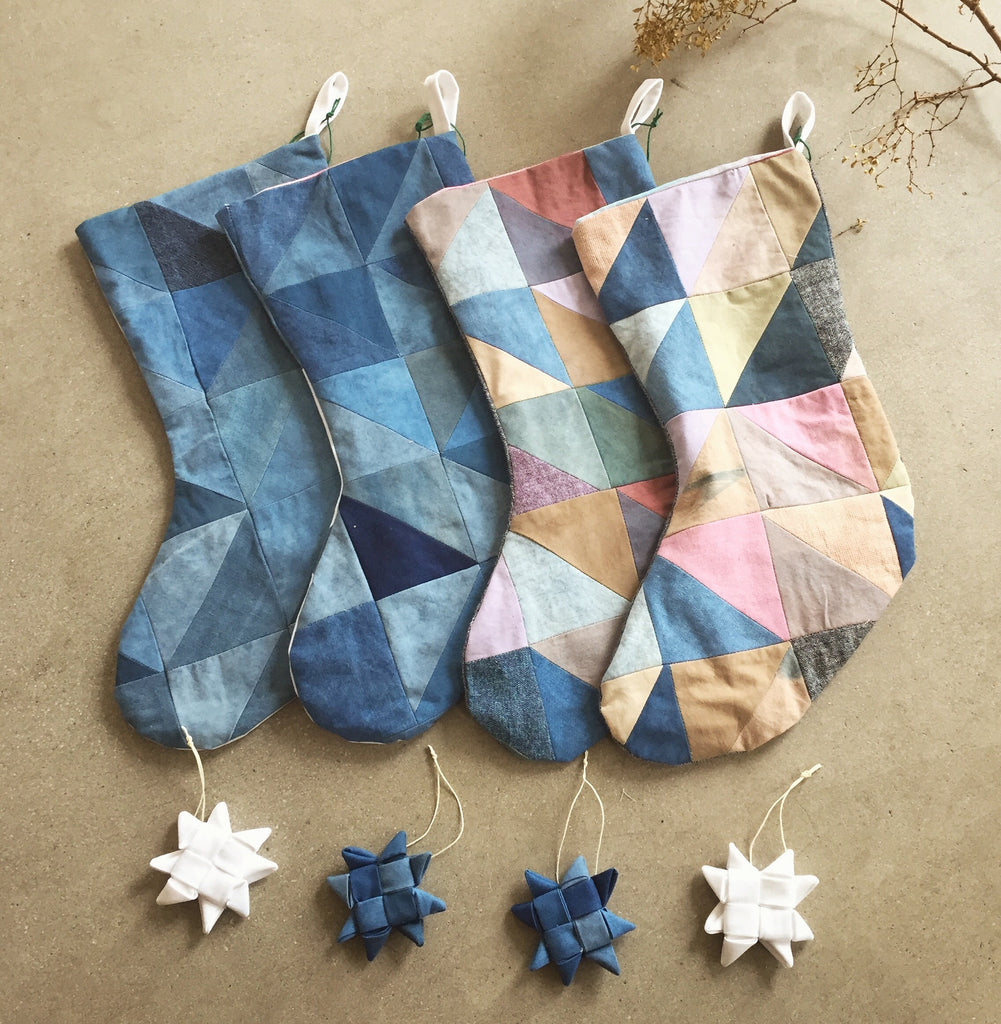 Chloe Gilbert - Fabric Star Ornaments