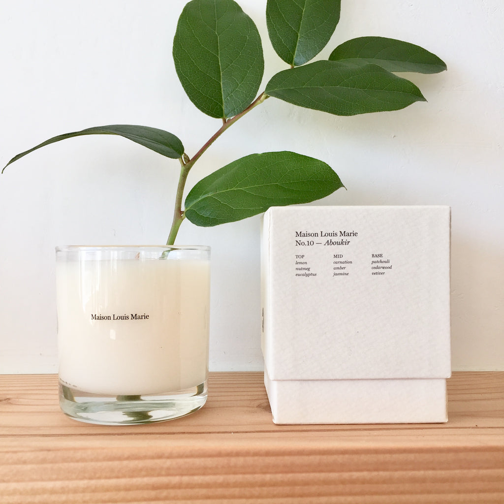 Maison Marie Candle - No. 10 Aboukir