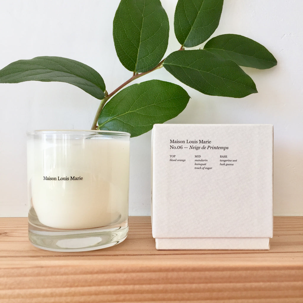 Maison Marie Candle - No. 6 Neige de Printemps