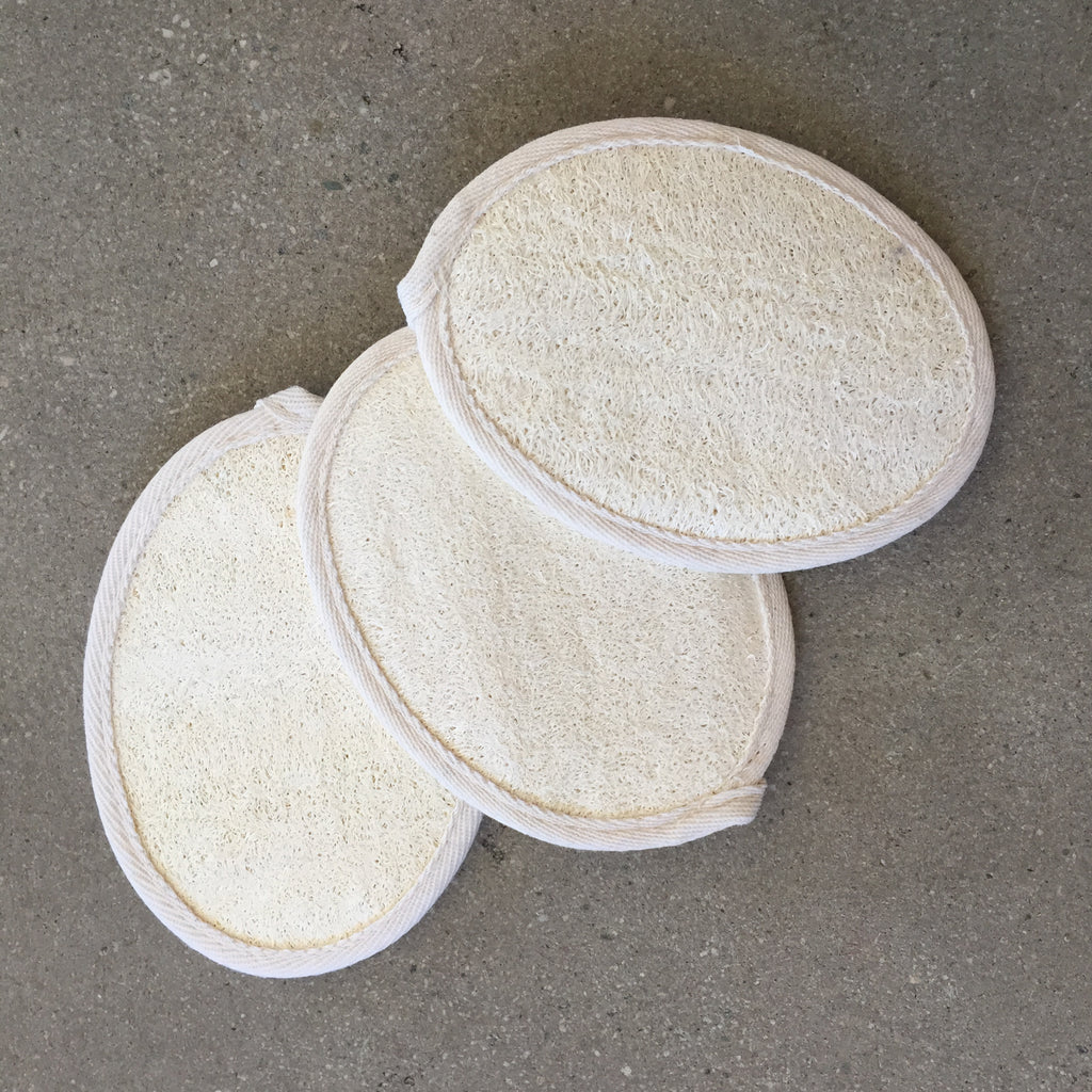 Natural Loofah Body Scrub Pad