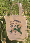 Even Pricks Need to Relax Tote Bag - Natural