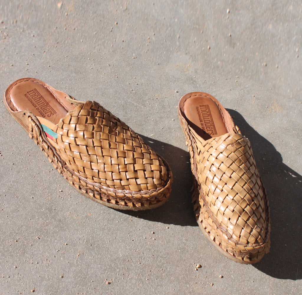 Mohinders - Mens Woven City Slippers