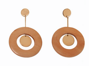 Sophie Monet - Disc Dot Earrings