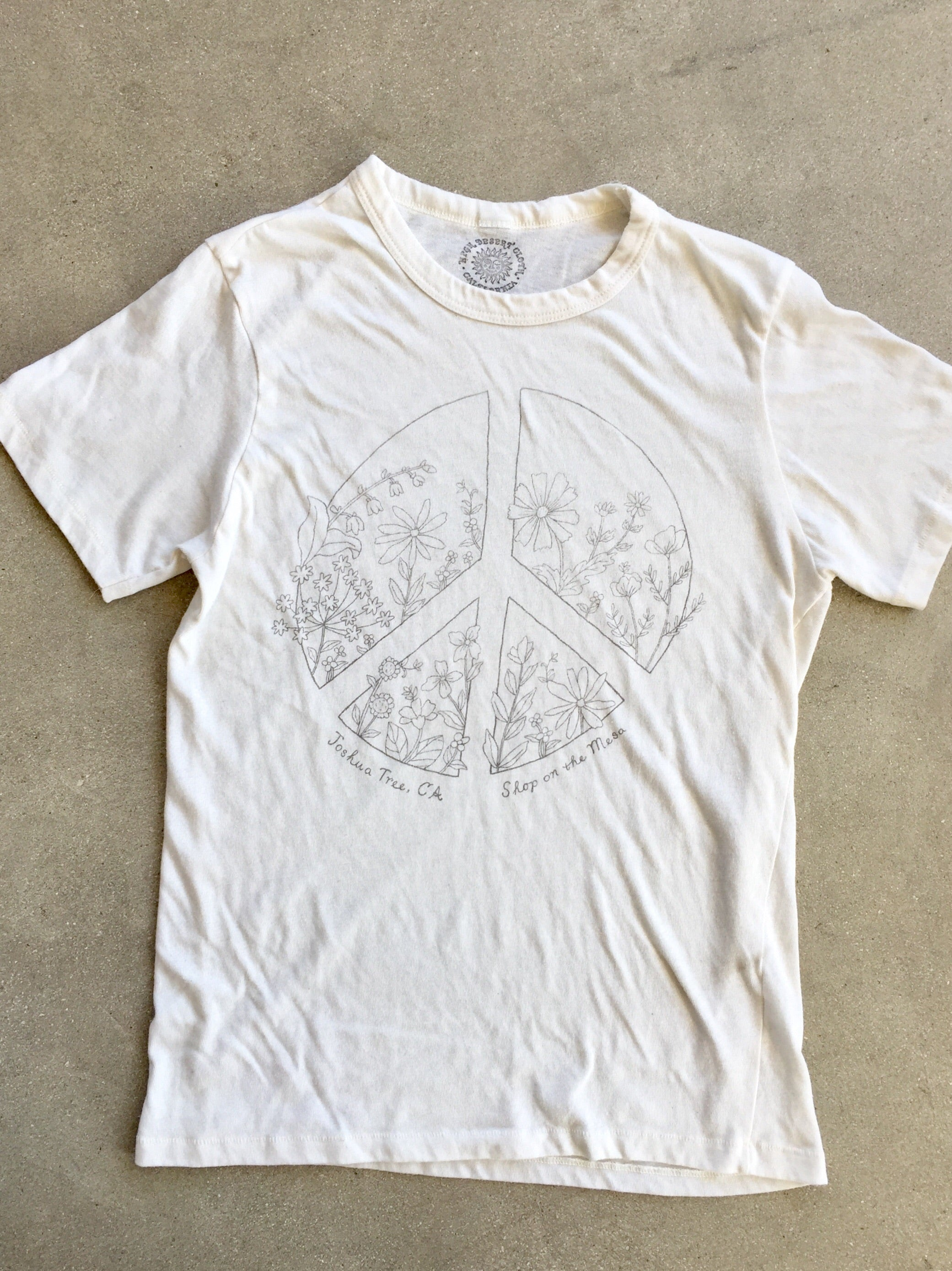 Peace Wildflower Tee