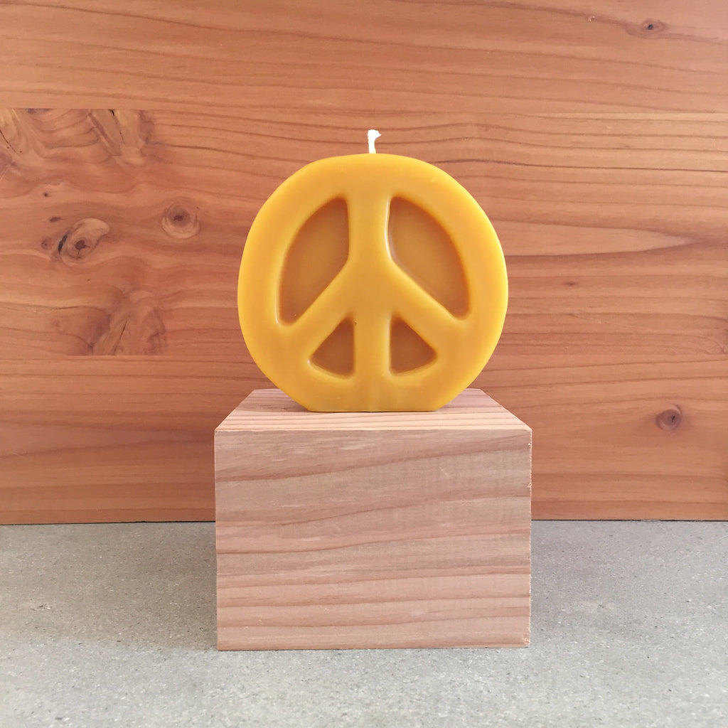 Peace Bees Wax Candle