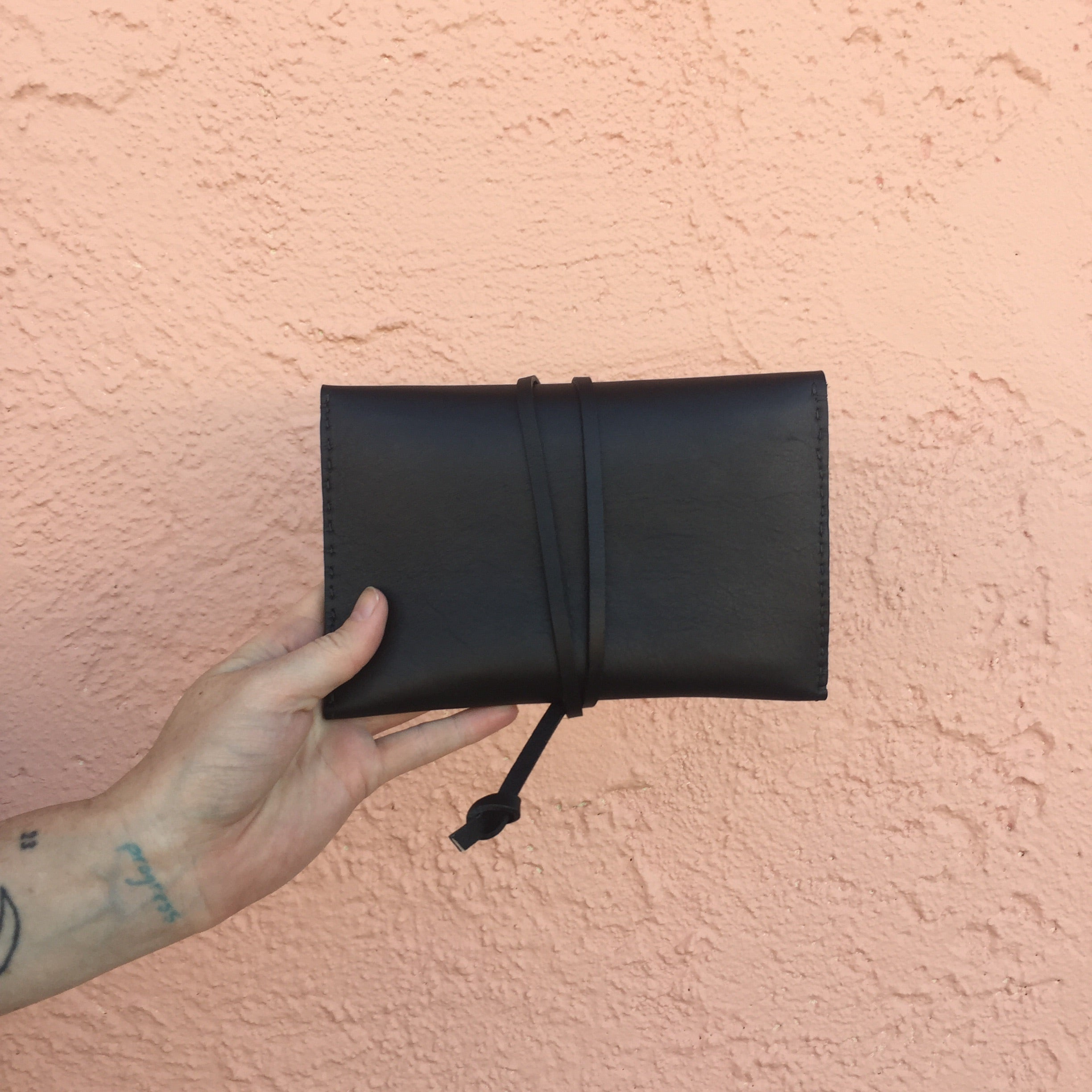 Wrapped Leather Wallet