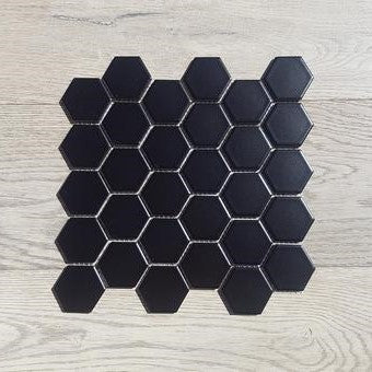 271x282 Hexagonal Nero Mosaic