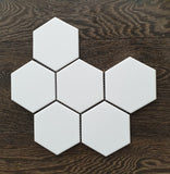 Oxford Hexagon White