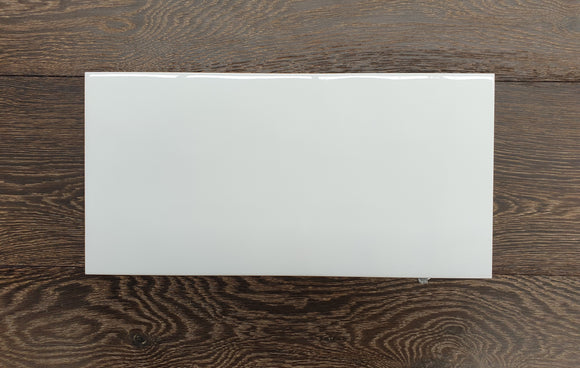 200x400 White Gloss Hammered