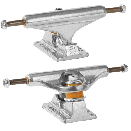 Independent 144 Stage 11 Polished Skateboard Truck Pair