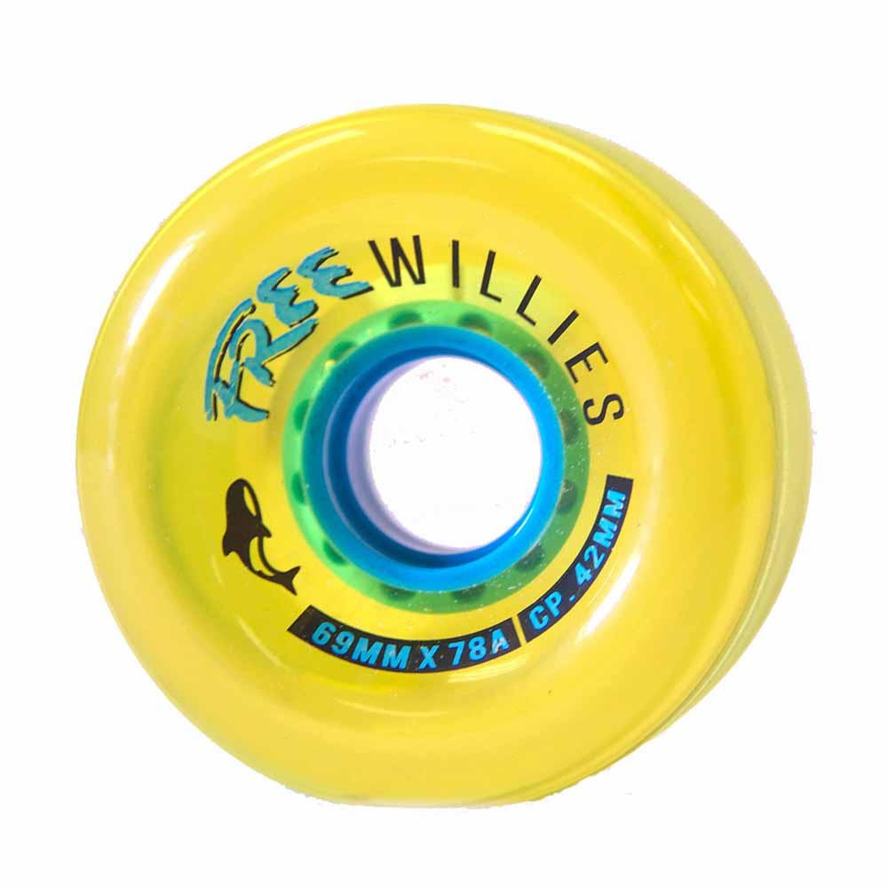 OMEN Wheels Free Willies V2 69mm 78a Gold 4 Pack