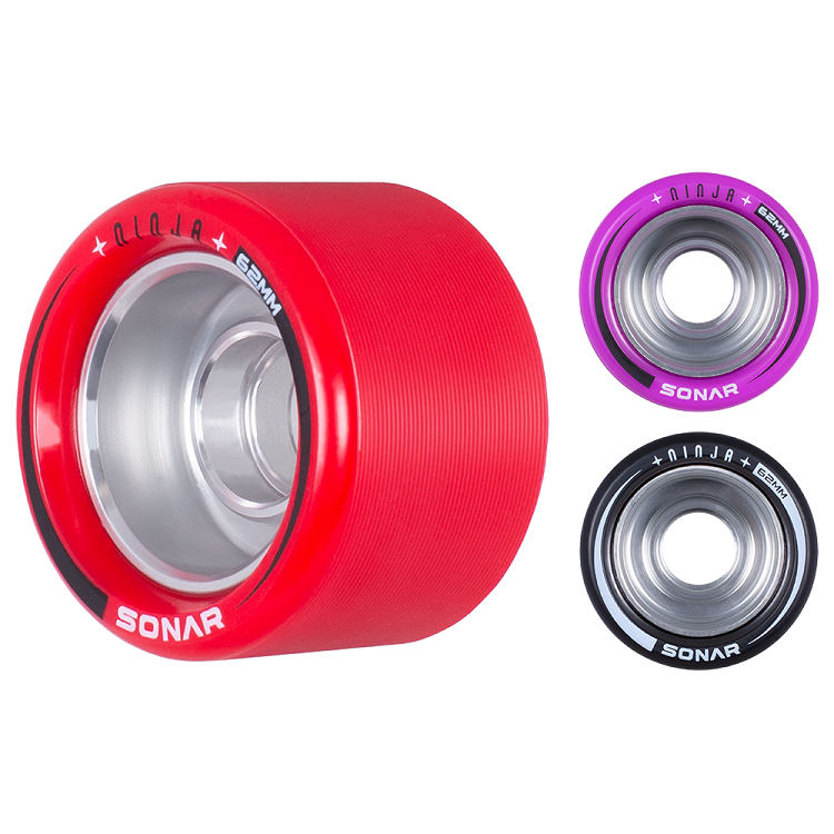 Radar Ninja Speed Wheels 62mm x 43mm 4 Pack