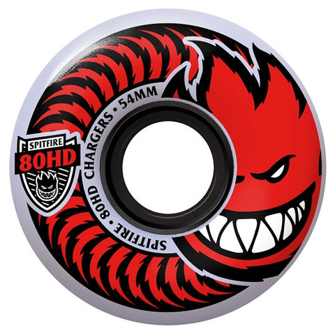 Spitfire 80HD Classic Charger Red Wheels 80 Duro 58mm