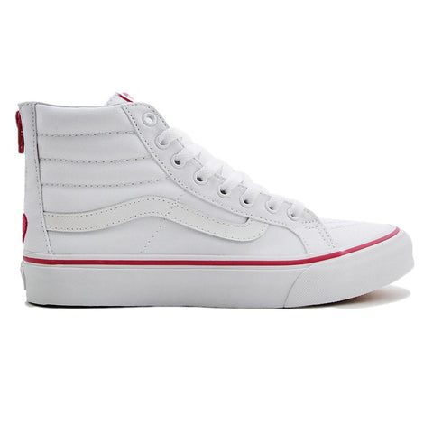 Vans Sk8-Hi Slim Zip (Valentines) True White
