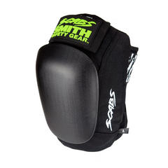 Smith Scabs Skate Knee Pad Black w Black Caps