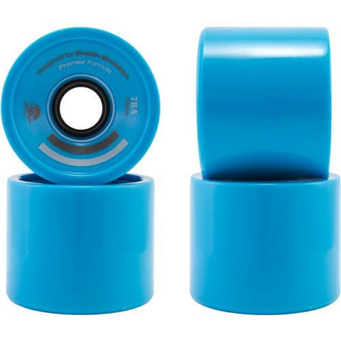 Bustin Boards Premier Wheels 66mm 78a Blue 4 Pack