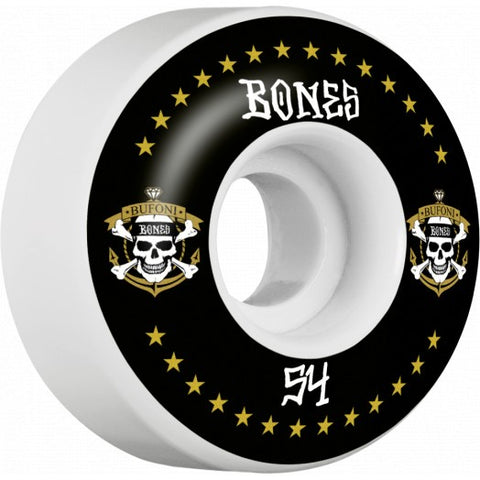 Bones STF Bufoni Live 2 Ride 54mm V1 4 Pack