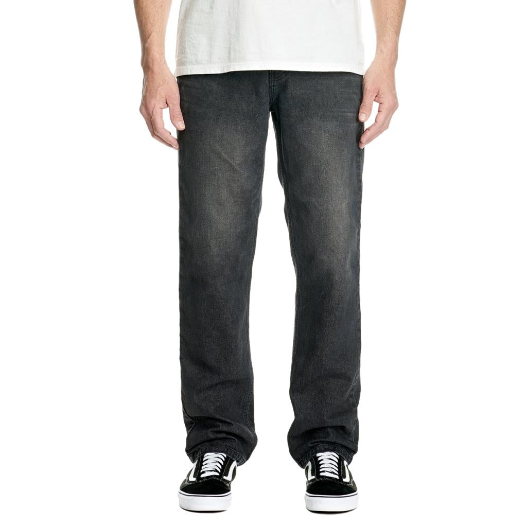 Res Denim Rogue Wide Jeans Washed Black