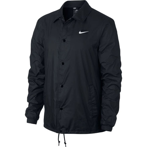 Nike SB Shield Coach Jacket Black / White