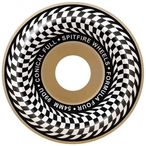 Spitfire Formula Four Checker Conical Full 99du / 53mm