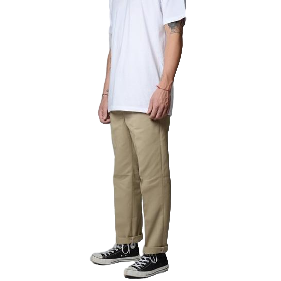 0f0bbaa8272 Dickies 873 Slim Straight Work Pants Khaki