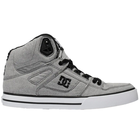 DC Pure High Top WC TX SE Grey