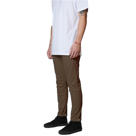 Dickies 811 Skinny Straight Work Pants Tobacco