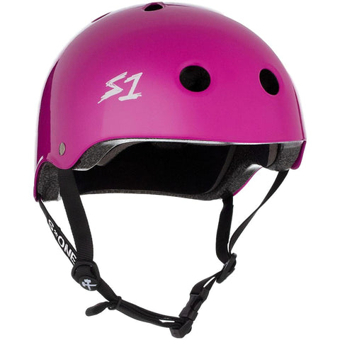 S One Lifer Purple Gloss Helmet