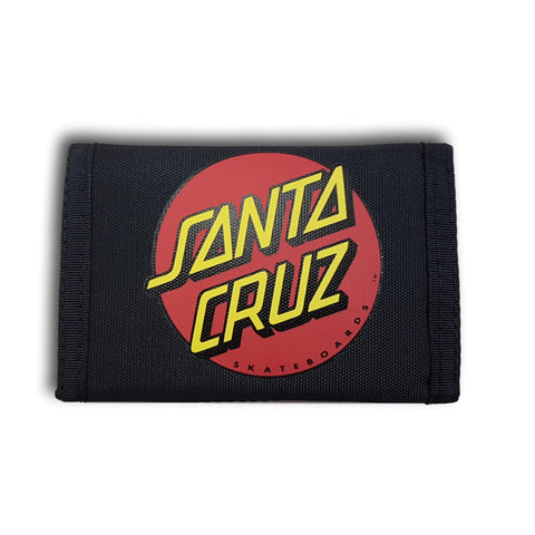 Santa Cruz Big Dot Wallet Black