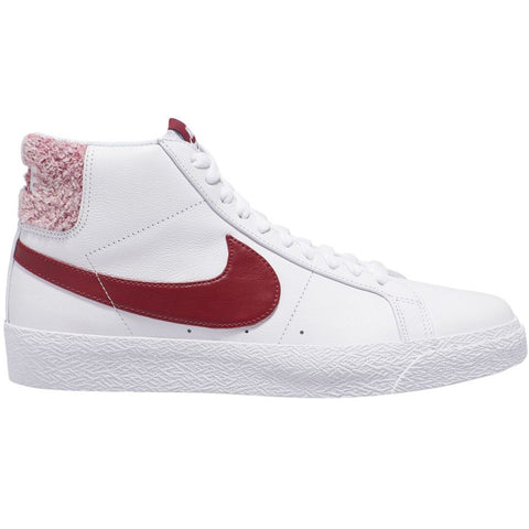 Nike SB Zoom Blazer Mid Premium White/Team Red