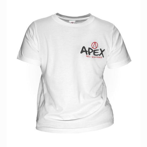 Apex Pro Scooters Tee White