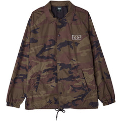 Obey Eyes Snap Jacket Camo