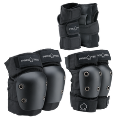 Protec Street Gear Jr 3 Pack Blk