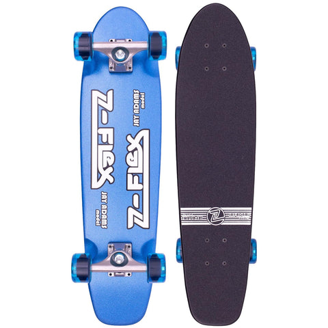 "Z-Flex Metal Flake Blue 29"" Cruiser"