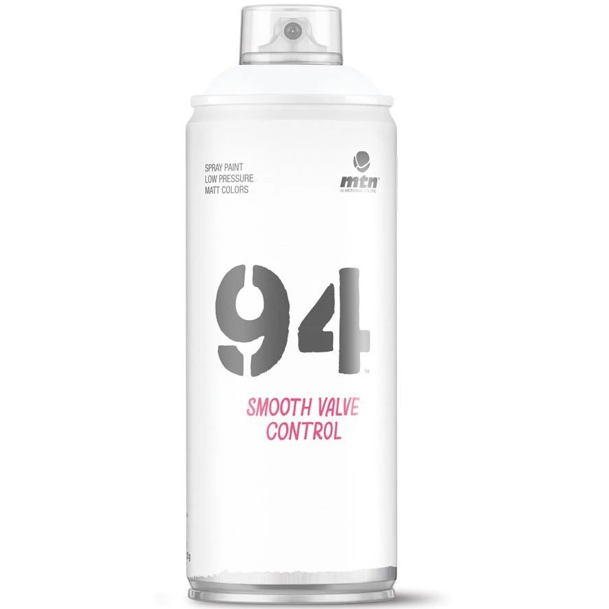 MTN 94 Spray Paint - RV9010 White