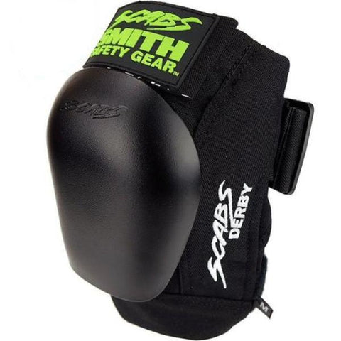 Smith Scabs Derby Knee Pad Black w Black Caps