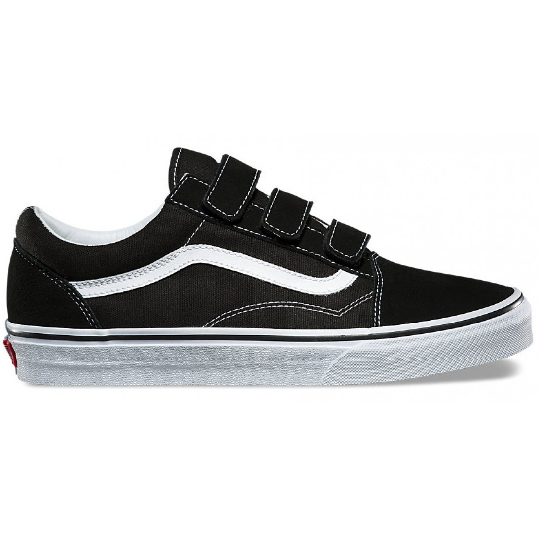 911f2c82ac7 Vans Old Skool V Black   True White