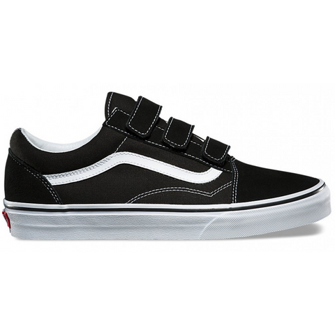Vans Old Skool V Black / True White