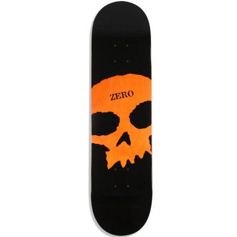 Zero Skateboards Single Skull Skateboard Deck 8.0