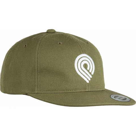 Powell Peralta Cap Triple P Snapback Military Green