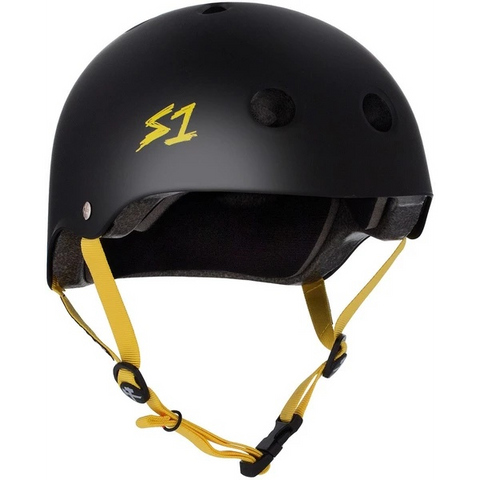 S-One Lifer Black Matte / Yellow Helmet